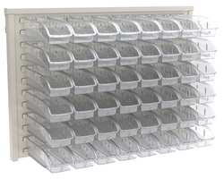 Louvered Panel 37-1/2x1-3/4x25-3/8 Clear