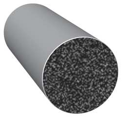 Rubber Seal Solid Round 0.5 In W 100 Ft
