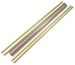 Glass Rod Kit Red Line 5/8In Dia 18In L