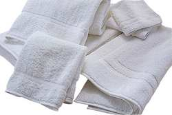 Bath Towel 24 x 50 In White PK 12