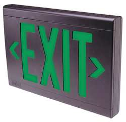 Exit Sign 3.5W Red 1 or 2 Faces