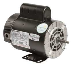 Pool Motor 1 1/10 HP 3450/1725 RPM 230V