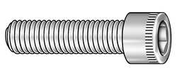 Skt Cap Screw Std 1/2-13x4 PK25