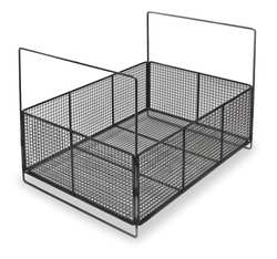 Parts Washer Basket Open Mesh 6 In H