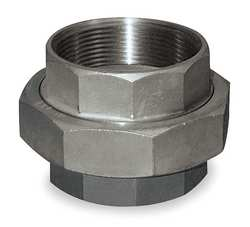 Union 3/8 In 304 Stainless Steel 150 PSI