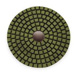 Dry Concrete Polishing Pad 3 In Pink PK9