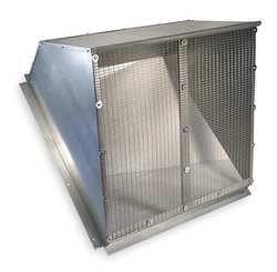 Weather Hood 42 In Galvanized Steel