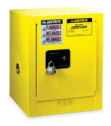 E4581 Flammable Safety Cabinet 4 Gal. Yellow