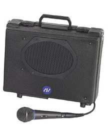 Portable PA System H 11 In x W 13 1/2 In