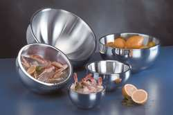 Bowl Insulated Silver 108 oz.