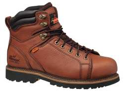 Work Boots Steel Brown Men 8-1/2M PR