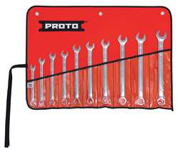 Combo Wrench Set Metric 6 Pt 10 PC