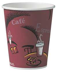 Disposable Hot Cup 12 oz. White