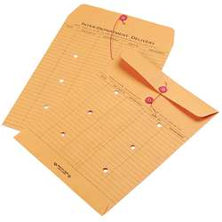Interoffice Envelope Lt Brown PK 100