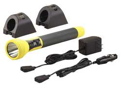 Rechargeable Flashlight Yellow LED