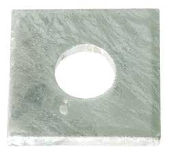 Square Washer Galvanized Fits 5/8 In