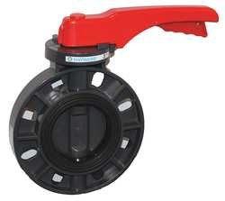 Butterfly Valve 2-1/2 In Lever Handle