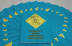 Training Handling a Sexual Harassment