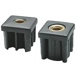Tube End Caps 1344 lb. Black