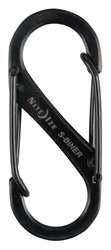 D3816 Double Gate Carabiner 1-9/16 In. Black