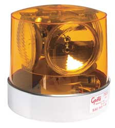 Compact Strobe Yellow Perm Sealed Beam