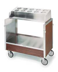 Tray Cart Stainless 36x22x40