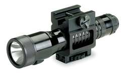 Rechargeable Flashlight Black Xenon 85Lm