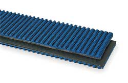 Conveyor Belt 3 Ply Nitrile Blue W 30 In