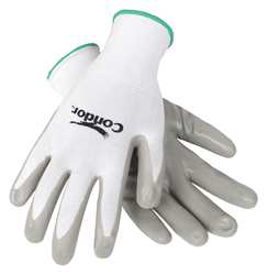 D1512 Coated Gloves XXL Gray/White PR