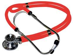 Stethoscope Red