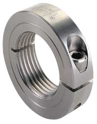 Shaft Collar 303 SS M24 x 3in. Bright