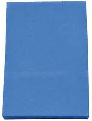 Kitting Sheet Polyethylene Blue 3/4 in.