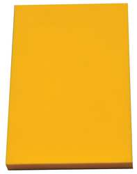 Kitting Sheet Polyethylene Yellow 1/4 in