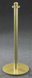 Urn Top Rope Post Gloss Brass