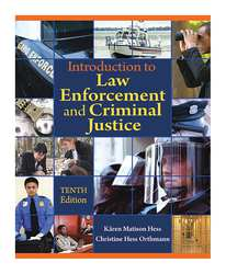 Ref Book Introduction to Law Enforcement