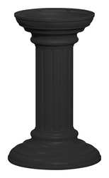 Cluster Box Unit Pedestal Black 17-3/4in