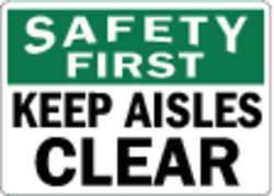 Safety Sign Reflective Alum 10inHx14inW