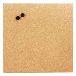 Magnetic Canvas Cork Board 17 x 17 In