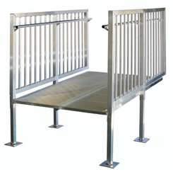 Ramp Section Aluminum 52.25 x 72 In