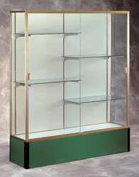 Display Case 72x48x16 Forest Green