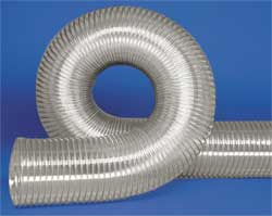 Ducting Hose 3 in ID 25 ft L Urethane