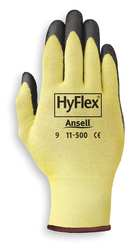 Cut Resistant Gloves Yellow/Black 2XL PR
