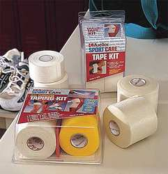 Sports Tape Kit White 1-1/2 in W
