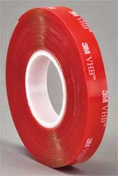 Double Sided VHB Tape 1In x 5 yd. Clear