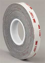 VHB Tape 2 In x 5 yd. Gray
