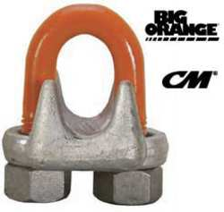 Wire Rope Clip U-Bolt 7/16 In Steel