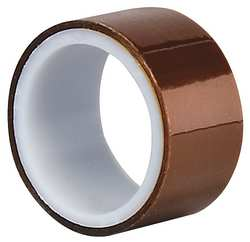 Film Tape Polyimide Amber 1 in x 5 Yd.