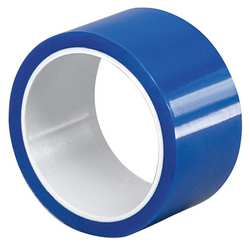 Film Tape Polyester Blue 3/4 In x 10 Yd