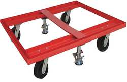 Pallet Dolly 48x48 With Floor Locks