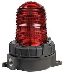 Warning Light Strobe Red 12-24VDC